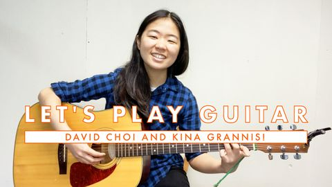 How to Play Guitar: David Choi and Kina Grannis!