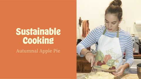 Sustainable Cooking: Autumnal Apple Pie
