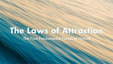 The Laws of Attraction: the Four Fundamental Forces of Nature