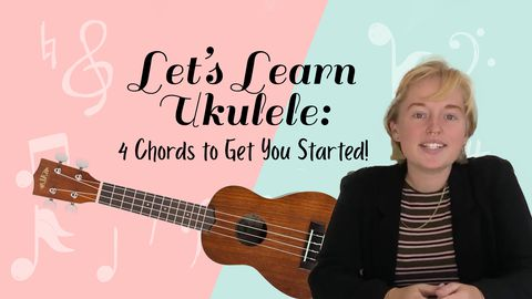 Let's Learn Ukulele: 4 Chords to Get You Started!