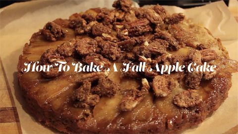 How To Bake A Fall Apple Cake
