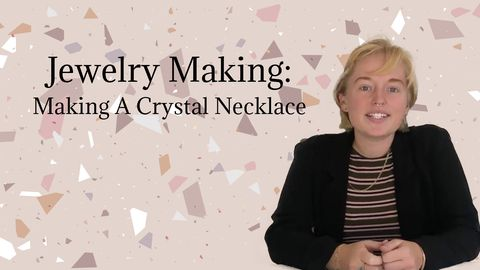 Jewelry Making: Making A Crystal Necklace