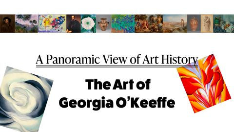 Artwork - A Panoramic Look at Art History: The Art of Georgia O'Keeffe
