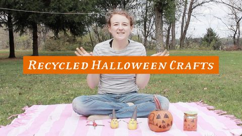 Recycled Halloween Crafts, Part 2