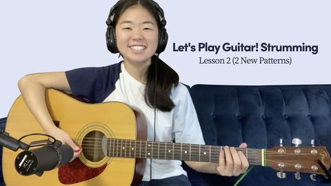 How to Play Guitar: Strumming Patterns, Lesson 2