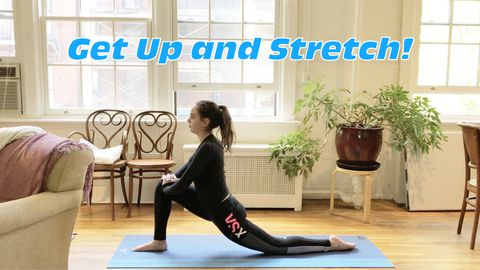 Get Up and Stretch!