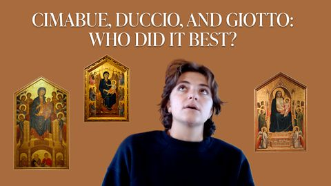 Cimabue, Duccio, and Giotto: Who Did Maesta Best?